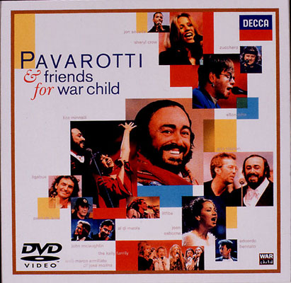 パヴァロッティ&フレンズ FOR WAR CHILD パヴァロッティ&フレンズ