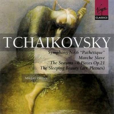 『悲愴』、スラヴ行進曲(プレトニョフ指揮ロシア・ナショナル管)、『四季』、『眠りの森の美女』より(プレトニョフ:ピアノ)(2CD)