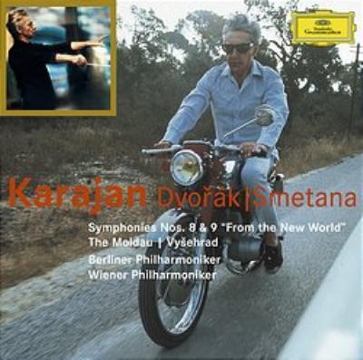 交響曲第8、9番 / 『モルダウ』、ほか カラヤン&ウィーン・フィル、ベルリン・フィル
