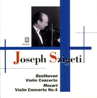 Violin Concerto.4 / .: Szigeti(Vn)beecham, Walter / Lso, British.so('34 & '32)