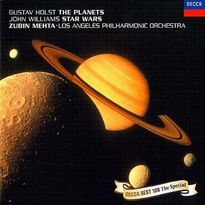 ホルスト:『惑星』、ジョン・ウィリアムズ:『スター・ウォーズ』組曲 メータ&ロサンジェルス・フィル