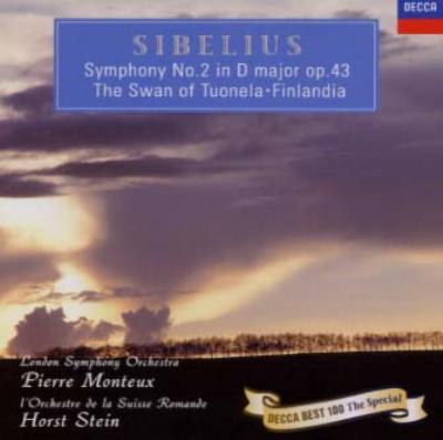 シベリウス:交響曲第2番、他 ピエール・モントゥー