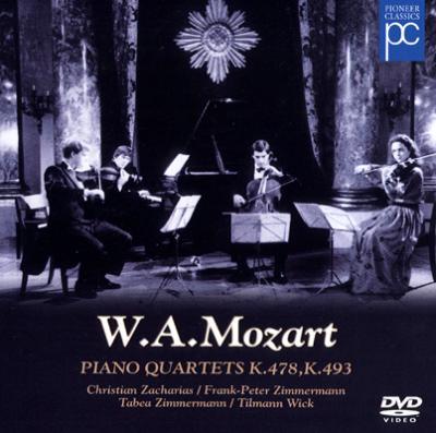 Piano Quartet.1, 2: Zacharias F.p.zimmermann T.zimmermann Wick