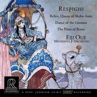 『シバの女王ベルキス』組曲、地の精の舞曲、ローマの松 大植英次&ミネソタ管