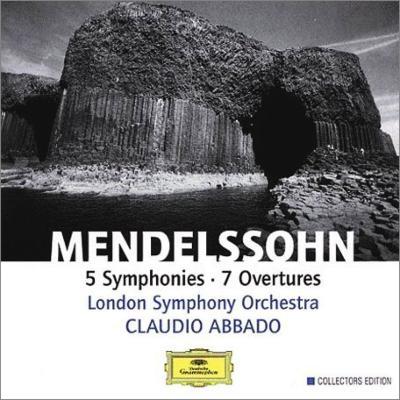 交響曲全集、序曲集 アバド&ロンドン交響楽団(4CD)