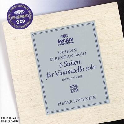 無伴奏チェロ組曲全曲 ピエール・フルニエ(1960)(2CD)