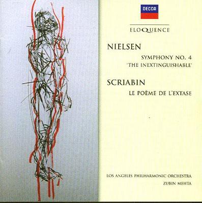 ニールセン:『不滅』、スクリャービン:『法悦の詩』 メータ&ロスアンジェルス・フィル