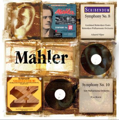 交響曲第10番(クック版)全曲 モリス/ニュー・フィルハーモニア管、交響曲第8番 フリプセ指揮ロッテルダム・フィル