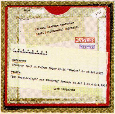 Sym.3: 朝比奈隆 / 大阪.po+wagner: Meistersinger Prelude To 1.act