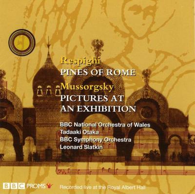 展覧会の絵(15名の編曲者による管弦楽版)、他 スラトキン&BBC交響楽団