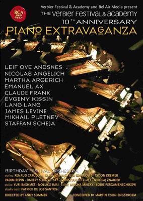 Verbier Festival 10th Anniversary Concert: Kissin, Argerich, Levine, Etc