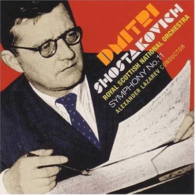 交響曲第11番 ラザレフ&ロイヤル・スコティッシュ・ナショナル管(ハイブリッドSACD)
