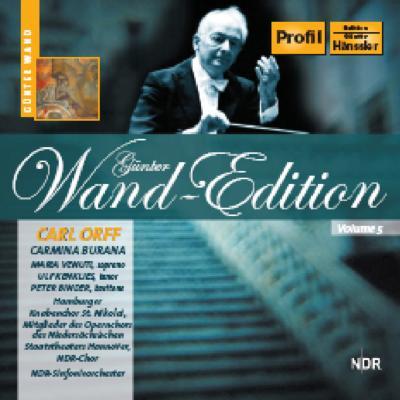 カルミナ・ブラーナ ヴァント&北ドイツ放送交響楽団&合唱団(1984年)