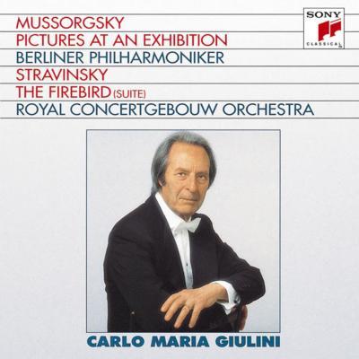 ムソルグスキー:『展覧会の絵』、ストラヴィンスキー:組曲『火の鳥』 ジュリーニ&ベルリン・フィル、コンセルトヘボウ管
