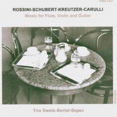 Music For Flute Violin & Guitar: Swete(G)Bertel(Fl)Sepec(Vn)
