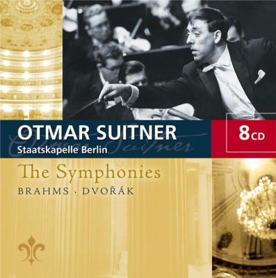 ブラームス:交響曲全集、ドヴォルザーク:交響曲全集 スイトナー&シュターツカペレ・ベルリン(8CD)