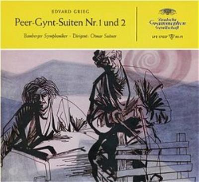 『ペール・ギュント』組曲第1番、第2番 リスト:『オルフェウス』、『マゼッパ』 スイトナー&バンベルク響