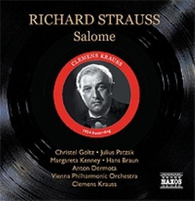 『サロメ』全曲 ゴルツ、クラウス&VPO(1953 モノラル)(2CD)
