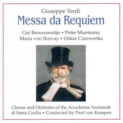 レクィエム ケンペン&聖チェチーリア音楽院管弦楽団、ブロウエンスティーン、他(2CD)