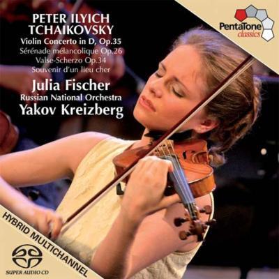 ヴァイオリン協奏曲、他 J.フィッシャー(vn)クライツベルク&ロシア・ナショナル管