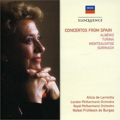 スペインのピアノ協奏曲集 ラローチャ(p)フリューベック・デ・ブルゴス&ロンドン・フィル