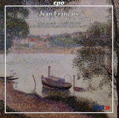 花時計、オーボエ三重奏曲、他 レンチェシュ、チャルネツキ&南西ドイツ室内管、パリシー四重奏団、フランセ=トリオ