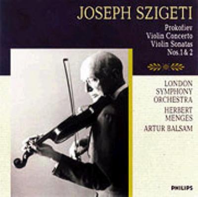 ヴァイオリン協奏曲第1番、ソナタ第1番&2番 ヨゼフ・シゲティ