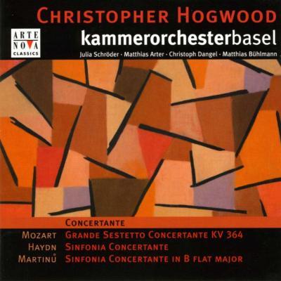 Sinfonia Concertante.2: Hogwood / Basel Co +haydn, Mozart