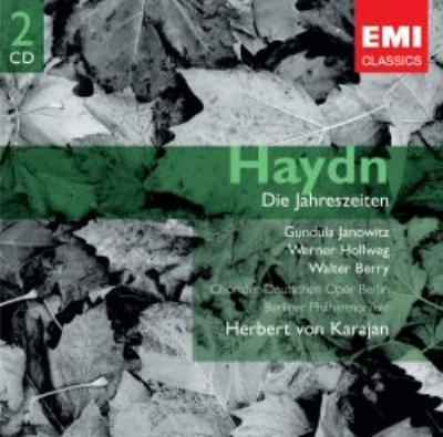 オラトリオ『四季』全曲 カラヤン&ベルリン・フィル(2CD)