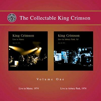 Collectable King Crimson: Vol.1: Live In Mainz / Live In Asbury Park (2CD)