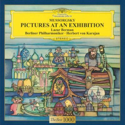 ムソルグスキー:展覧会の絵(ピアノ&オーケストラ版) カラヤン/ベルリン・フィルハーモニー管弦楽団