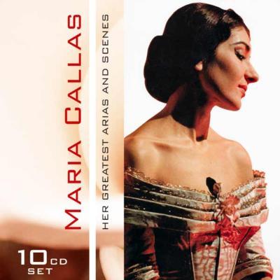 マリア・カラス/オペラ・アリア&名場面集(10CD)
