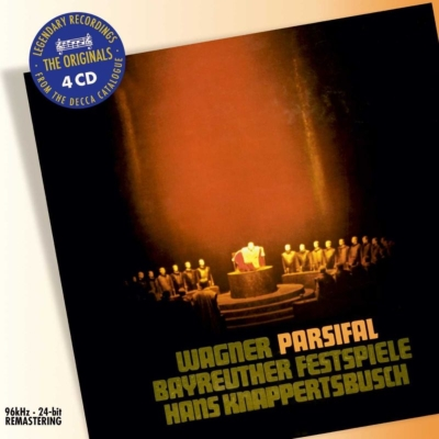 『パルジファル』全曲 クナッパーツブッシュ&バイロイト、トーマス、ロンドン、ホッター、ダリス、他(1962 ステレオ)(4CD)
