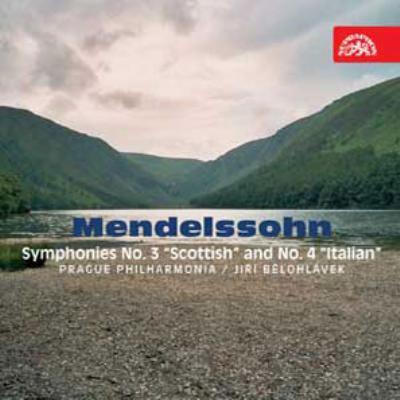 交響曲第3番『スコットランド』、第4番『イタリア』 イエジ・ビエロフラーヴェク&プラハ・フィルハーモニア