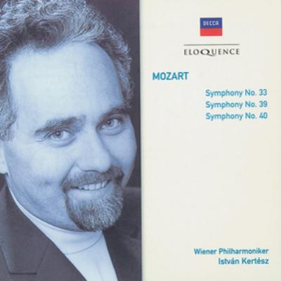 交響曲第33番、第39番、第40番 ケルテス&ウィーン・フィル