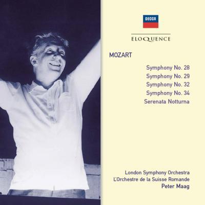 交響曲第28,29,32,34番、他 マーク&ロンドン響、スイス・ロマンド管