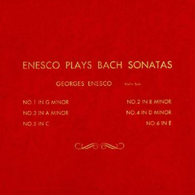 無伴奏ヴァイオリン・ソナタとパルティータ全曲 エネスコ(vn)(2CD)