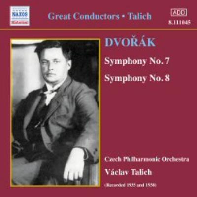 交響曲第7番、第8番 ターリヒ&チェコ・フィル(1938、1935)