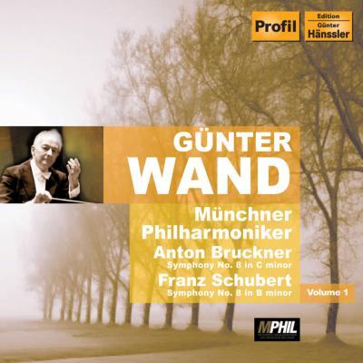 ブルックナー:交響曲第8番、シューベルト:交響曲第8番『未完成』 ヴァント&ミュンヘン・フィル