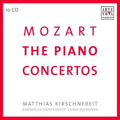 ピアノ協奏曲全集 キルシュネライト(p)ベールマン&バンベルク交響楽団(10CD)