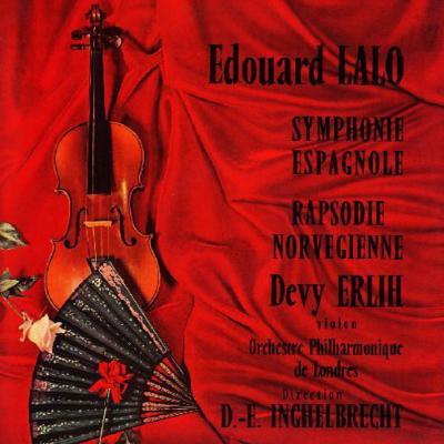 ラロ:スペイン交響曲、ノルウェー狂詩曲 エルリー(vn)アンゲルブレシュト&LPO