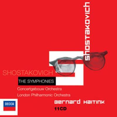 交響曲全集 ハイティンク&コンセルトヘボウ、ロンドン・フィル、他(11CD)