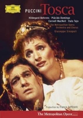歌劇『トスカ』全曲 ゼッフィレッリ演出 シノーポリ&メトロポリタン歌劇場、ベーレンス、ドミンゴ