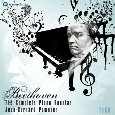 ピアノ・ソナタ全集 ジャン・ベルナール・ポミエ(10CD)