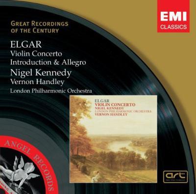 ヴァイオリン協奏曲、序奏とアレグロ ケネディ(vn)ハンドリー&LPO