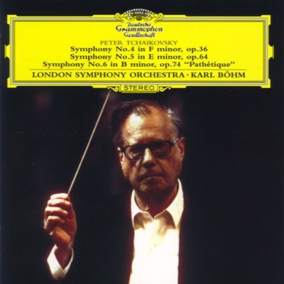 交響曲第4番、第5番、第6番『悲愴』 カール・ベーム&ロンドン交響楽団(2CD)