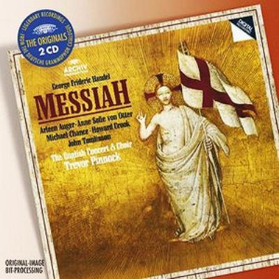 オラトリオ『メサイア』全曲 ピノック&イングリッシュ・コンサート(2CD)