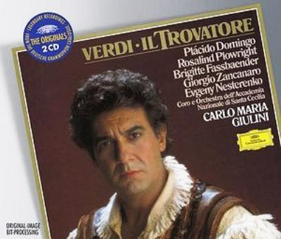 歌劇『トロヴァトーレ』全曲 ジュリーニ(2CD)