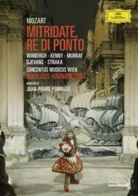 歌劇『ポントの王ミトリダーテ』全曲 アーノンクール&CMW