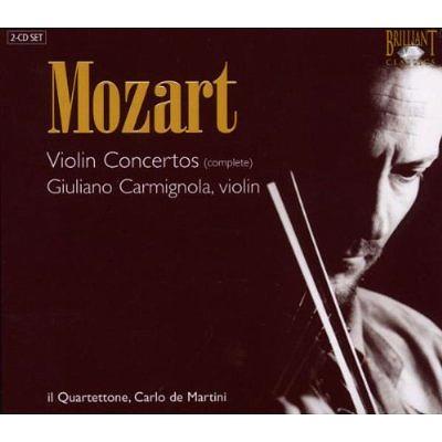 ヴァイオリン協奏曲全集 カルミニョーラ(2CD)